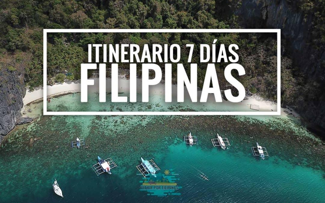 itinerario 7 días Filipinas