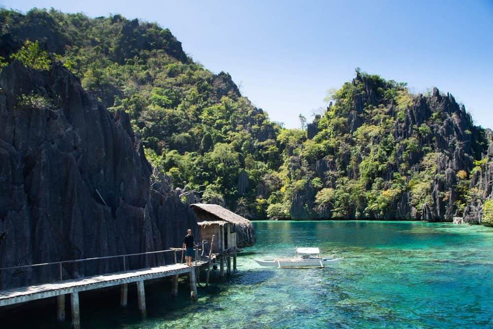 Coron Twin Lake ruta 7 días filipinas