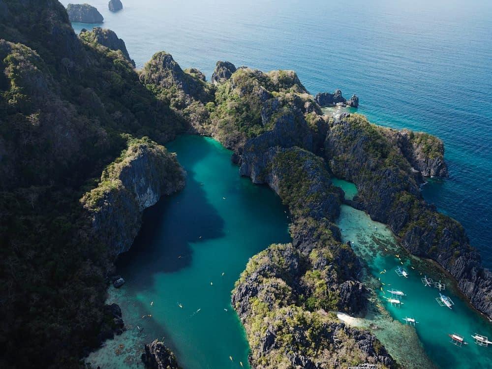 Big Lagoon y Small Lagoon itinerario viaje filipinas 1 semana