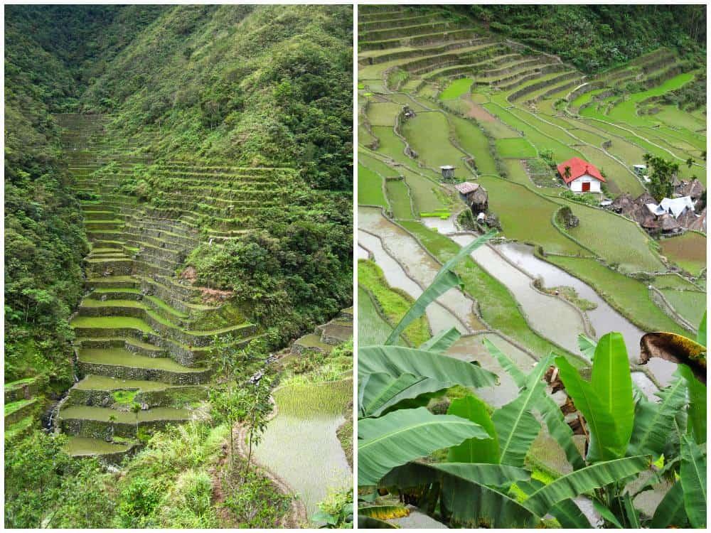 las terrazas de arroz de Batad