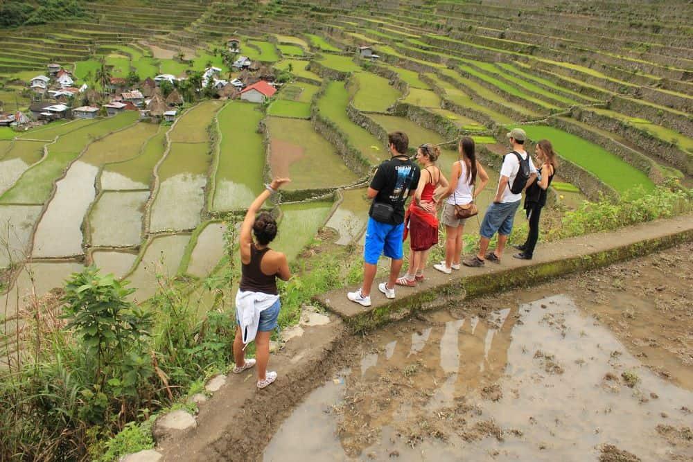 paseando por las terrazas de arroz de Batad