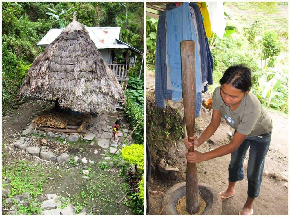 casas de los ifugao batad