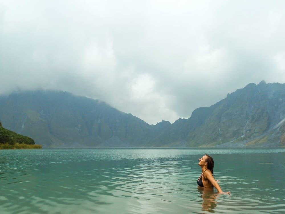 cráter volcán Pinatubo