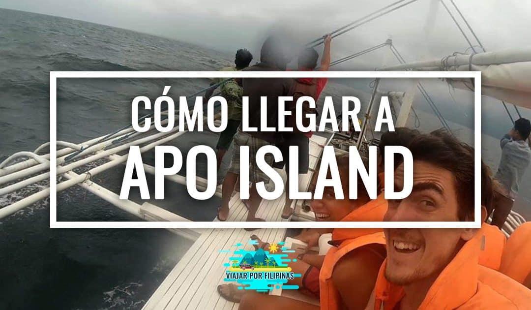 Cómo llegar a Apo Island