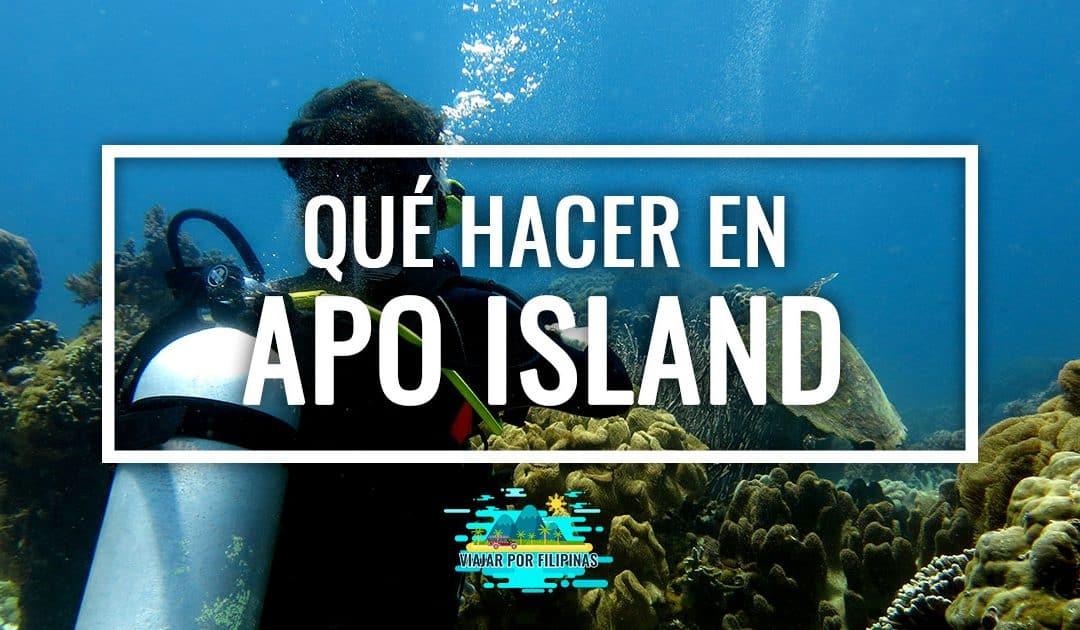 Qué hacer y qué ver en Apo Island