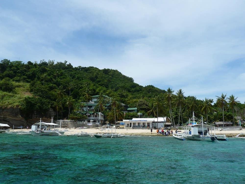 desembarco en Apo Island
