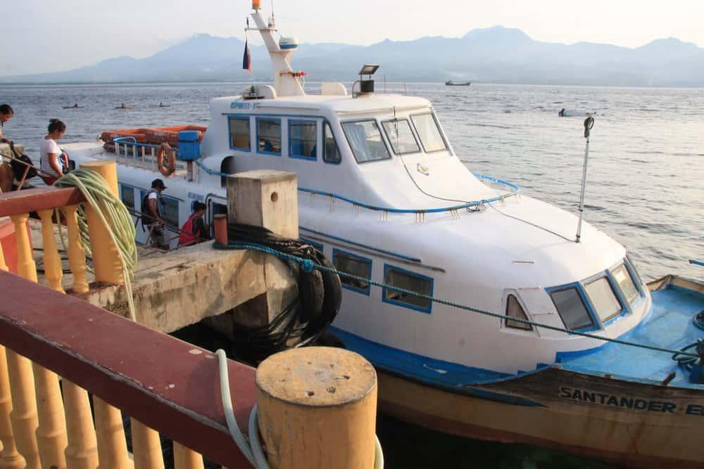 barcos desde Liloan a Sibulan para llegar a Apo Island