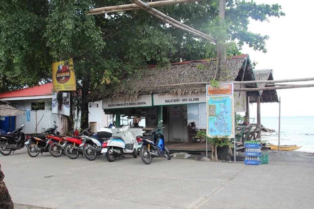 puerto de Malatapay para ir a Apo Island
