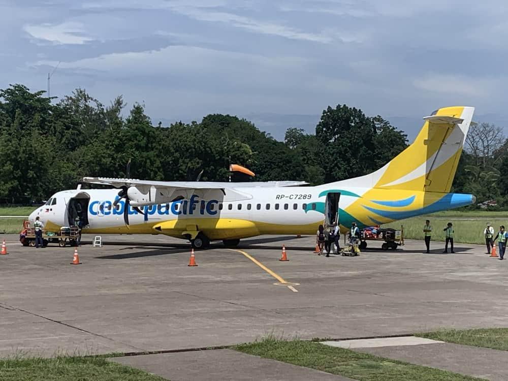 aviones Cebu Pacific para moverse entre islas filipinas