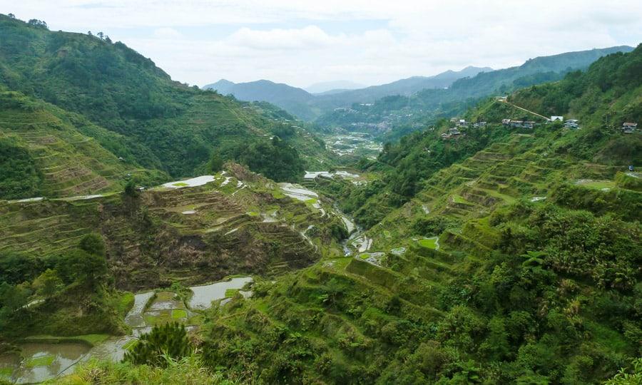 terrazas de arroz de Batad