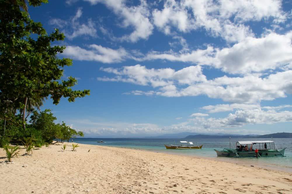 playa de la isla de Corregidor en siargao