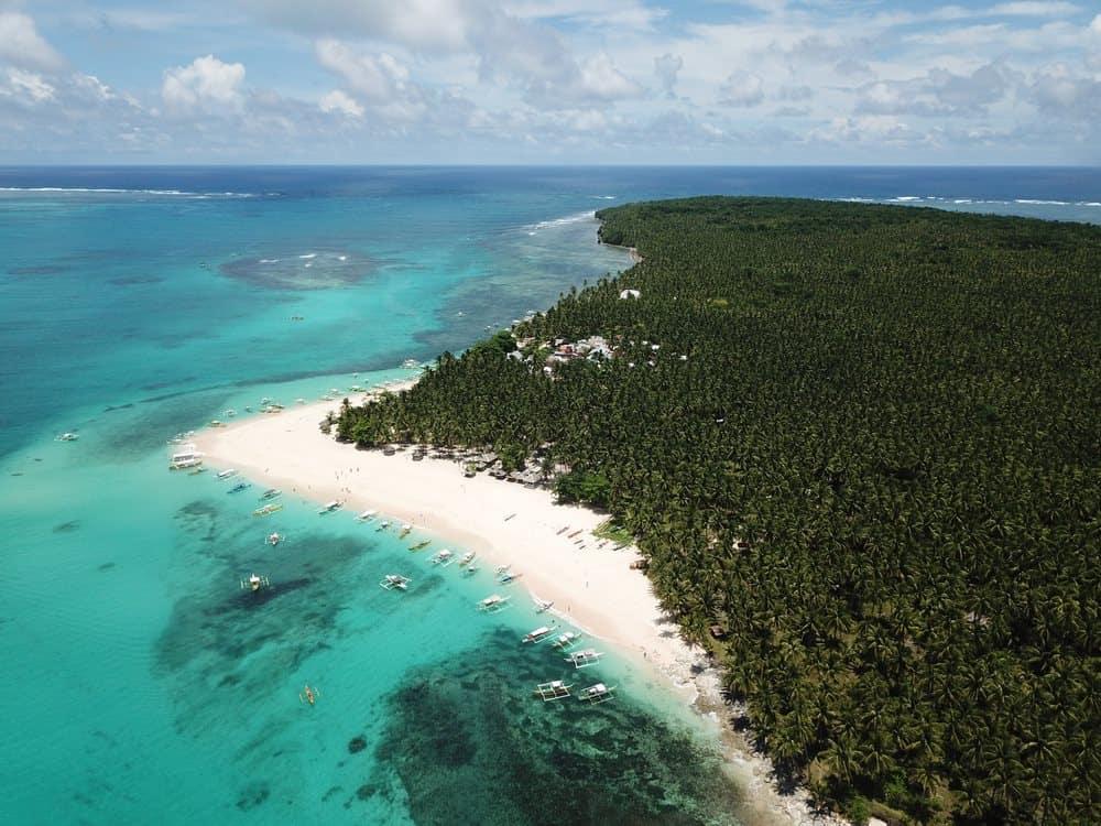 playa de Daku Island
