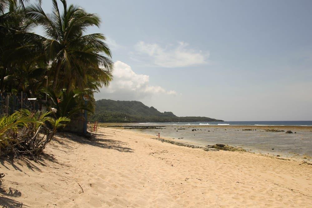 playa de siargao pacífico