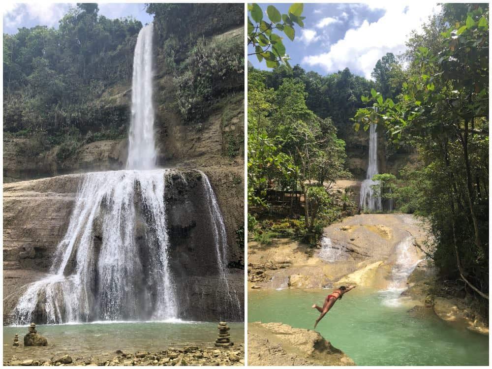 can-umantad falls bohol