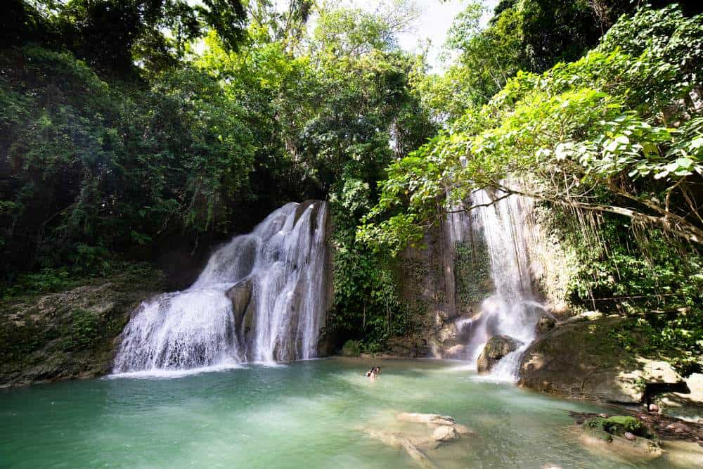 pahangog falls bohol