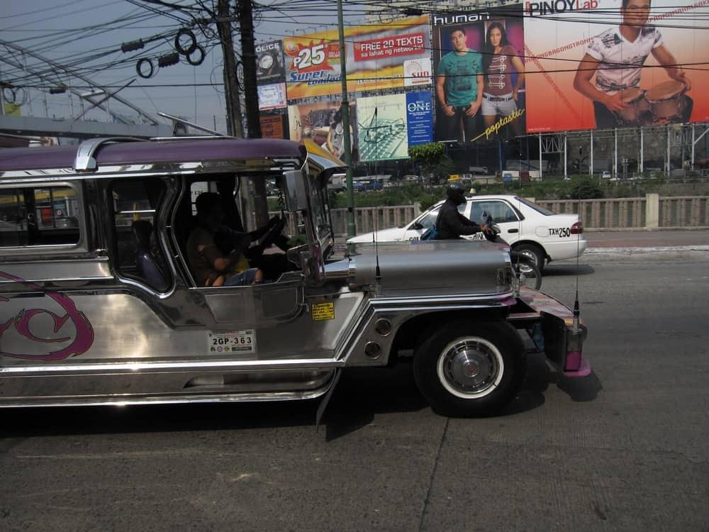 jeepneys y taxis manila