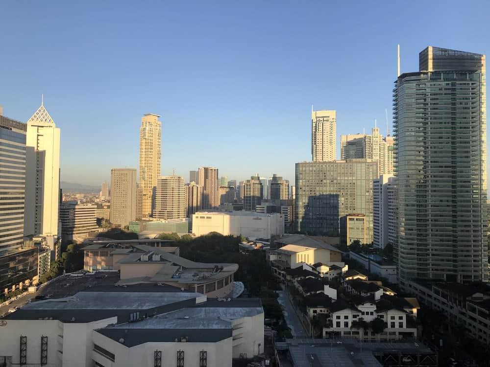 rascacielos de Manila