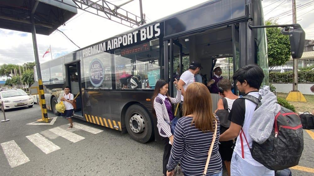 buses del aeropuerto de manila