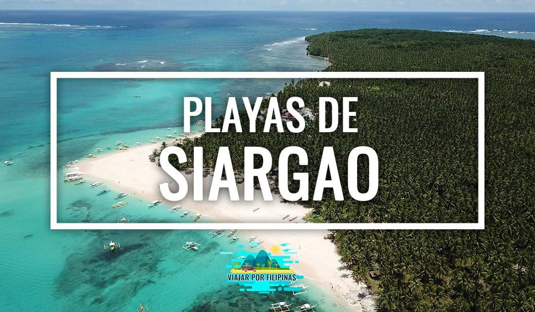 Las mejores playas de Siargao