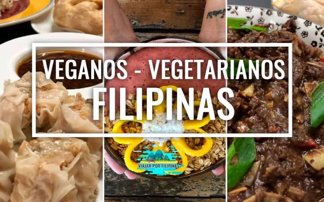 comer vegetariano en Filipinas