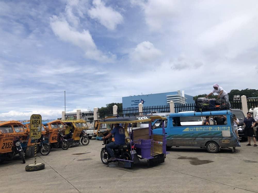 transporte del puerto de siquijor al hotel