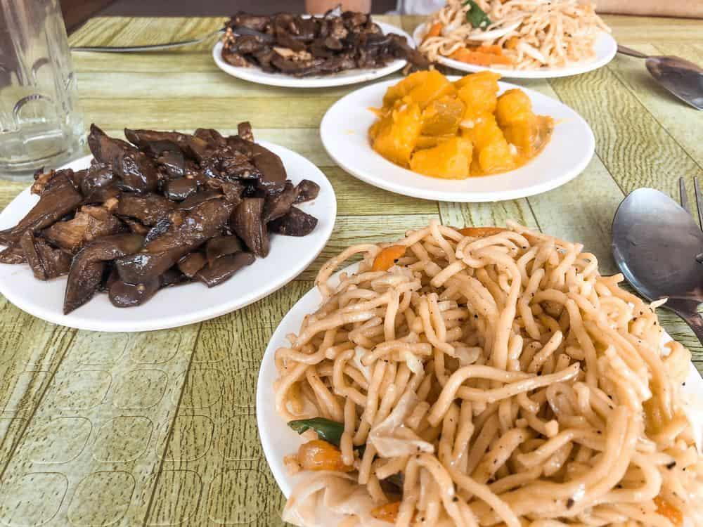 comer vegetarianos en filipinas