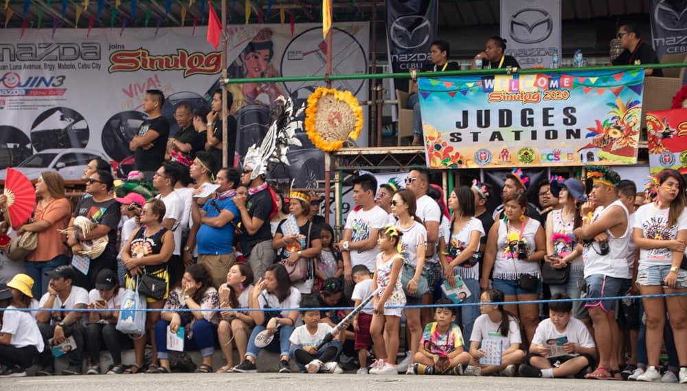 jueces del Sinulog Festival