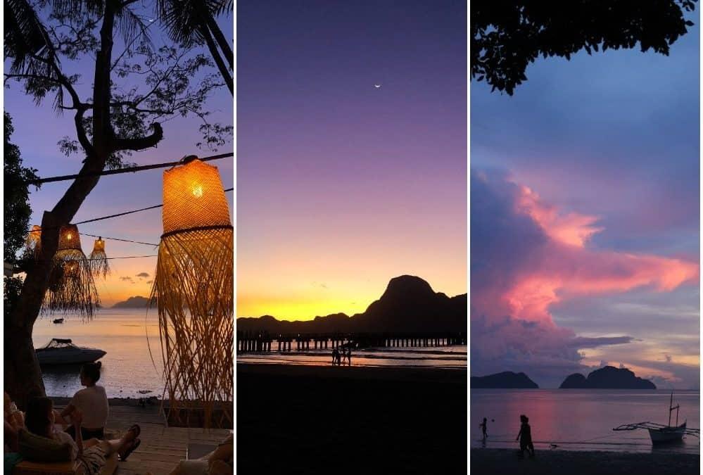 Los mejores sitios para ver el atardecer en El Nido