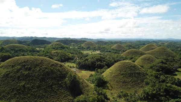 Las Chocolate Hills de Filipinas