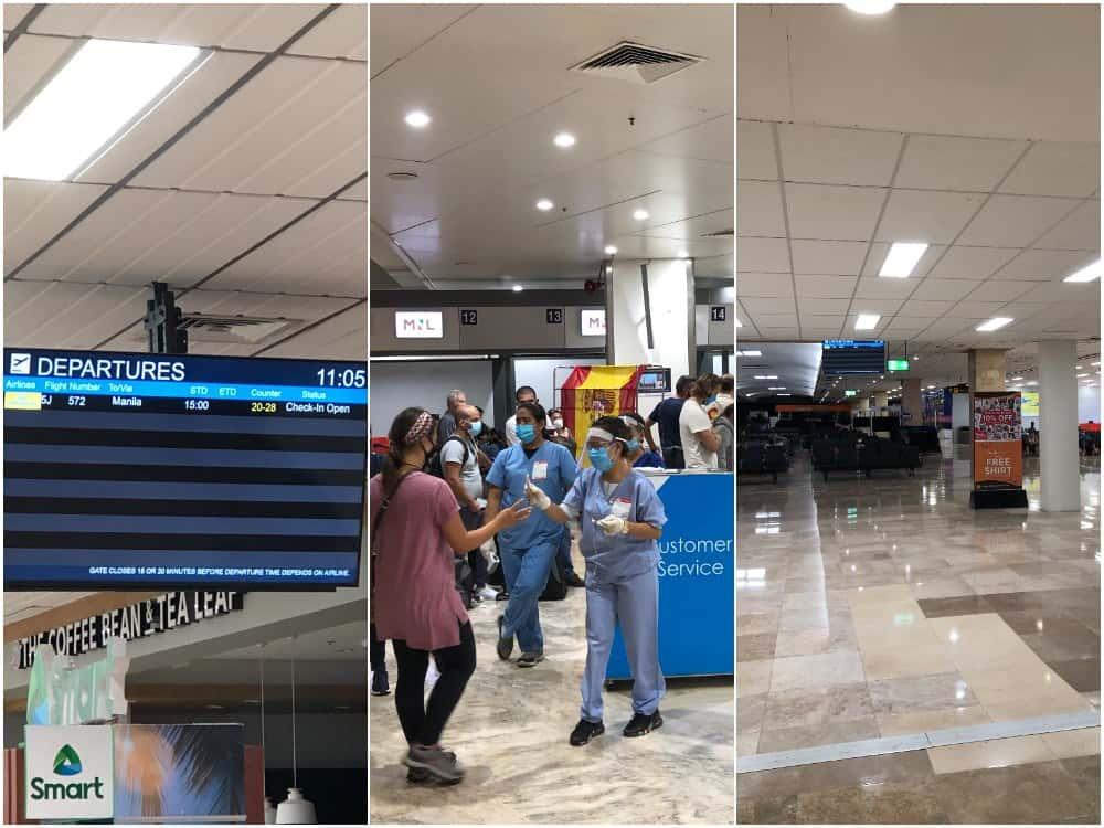 aeropuertos filipinas covid