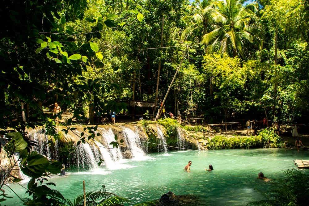 cómo llegar a Cambugahay Falls