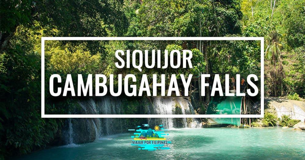 Cambugahay Falls de Siquijor, Filipinas