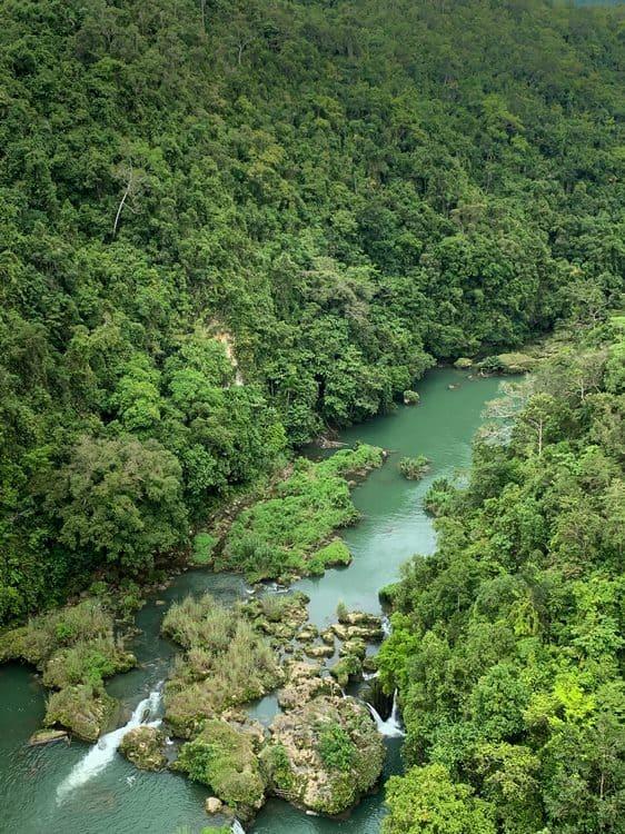 Busay falls río Loboc