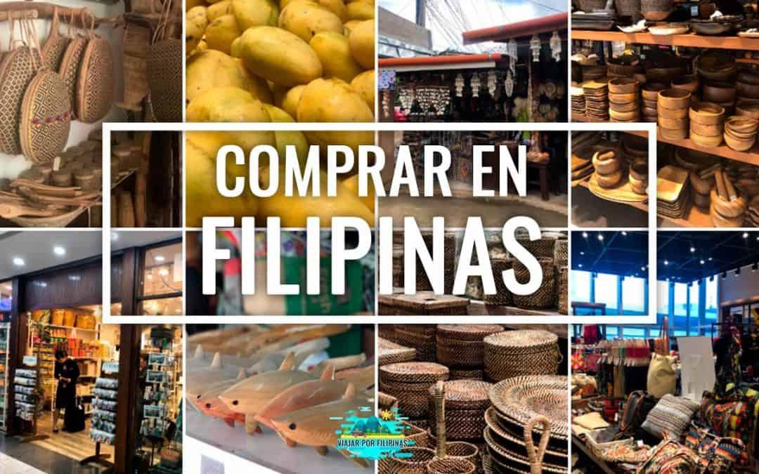 souvenirs en Filipinas