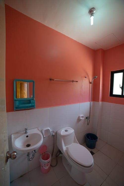 el lavabo del Michelina Princess en Loboc