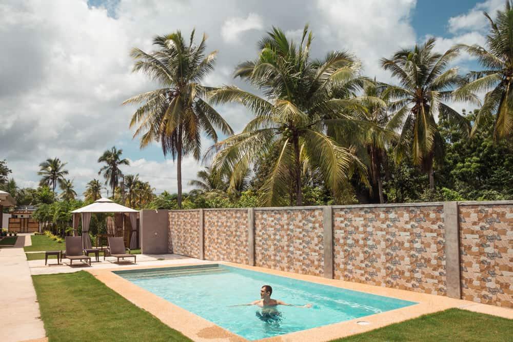 alojamiento con piscina en Panglao