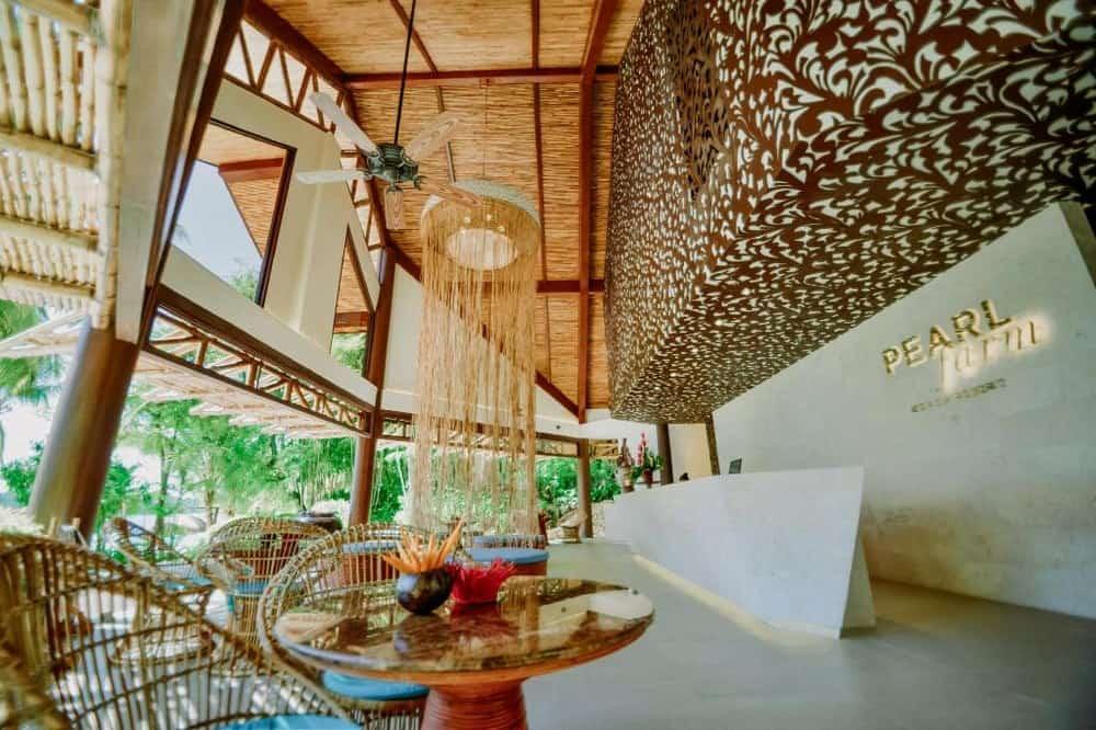 recepción pearl farm resort davao