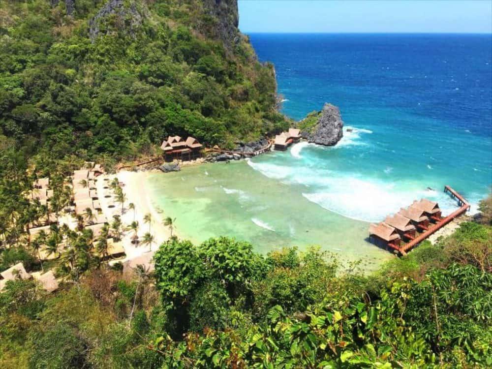 ubicación cauayan island resort el nido
