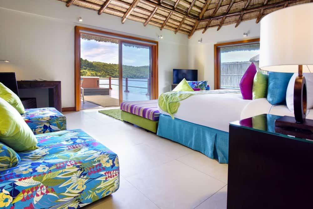habitaciones villas sobre el mar filipinas huma island resort
