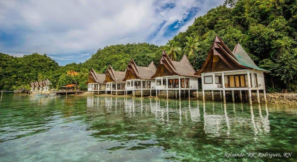 villas sobre el agua filipinas siargao