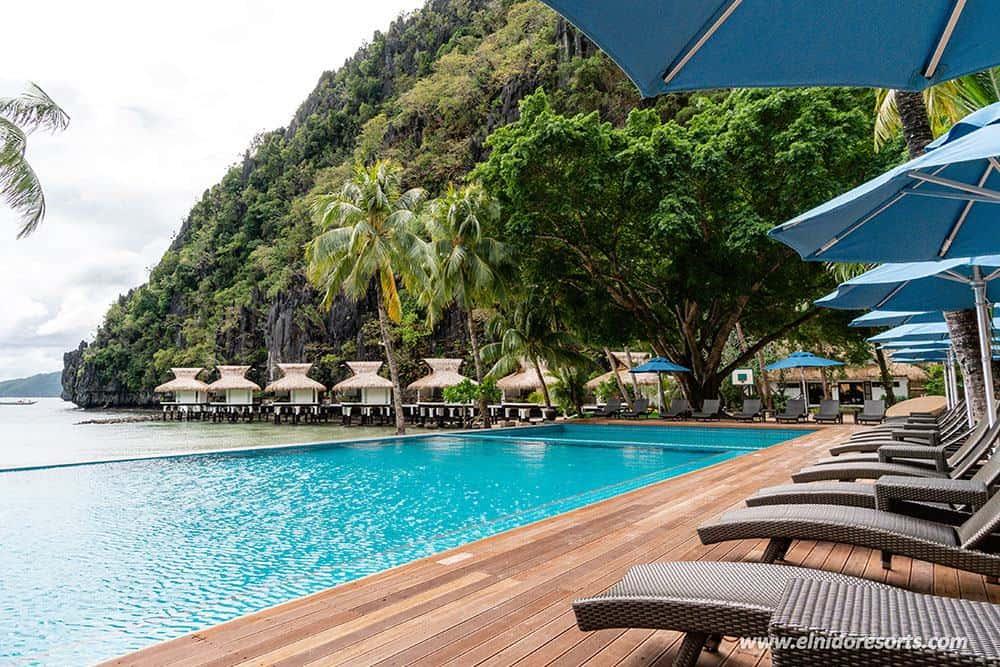 piscina El Nido Resorts Miniloc Island