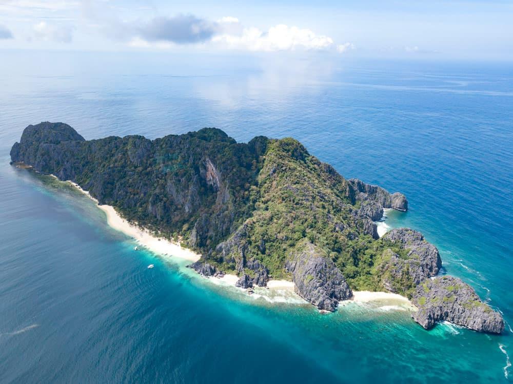 Black Island desde el dron