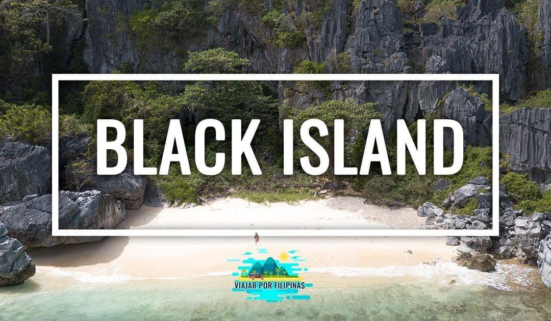 Black Island (Malajon), el tesoro por descubrir en Coron
