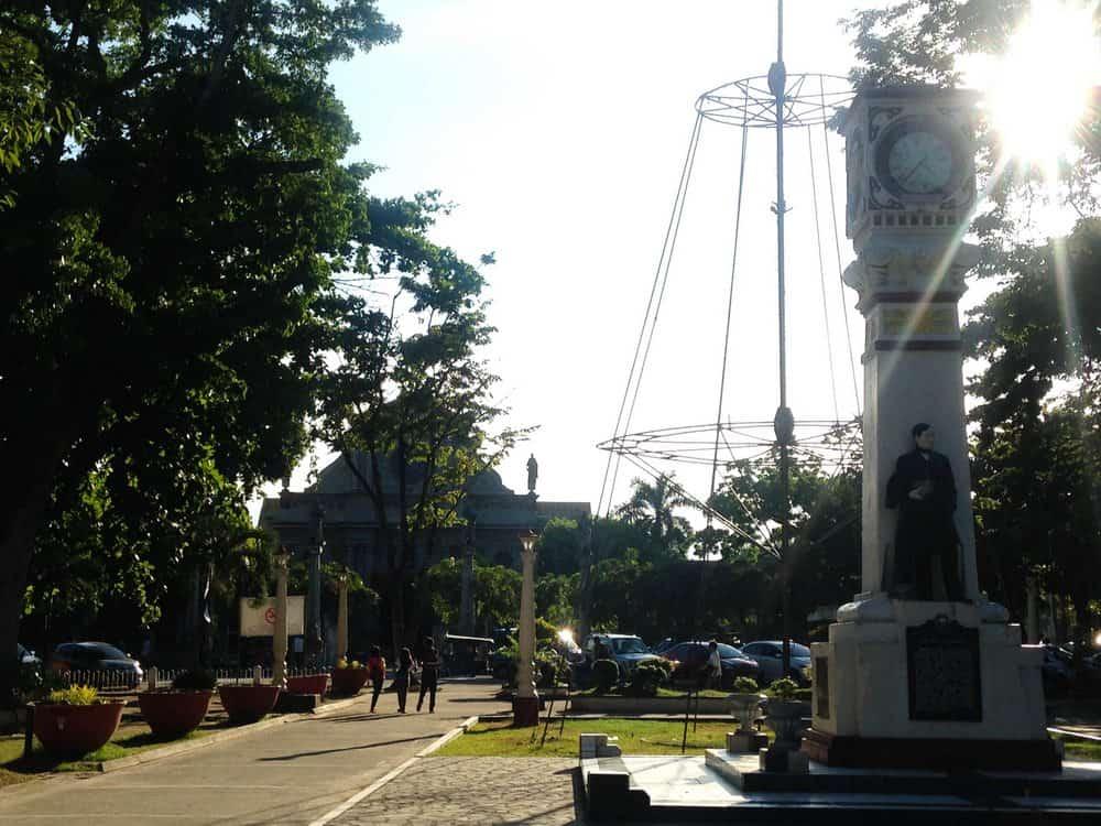 Quezon Park de Dumaguete