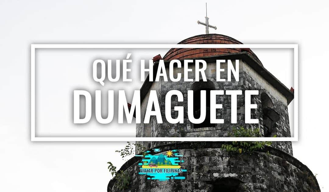 Qué ver y qué hacer en Dumaguete