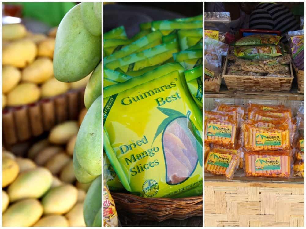 productos mango de guimaras