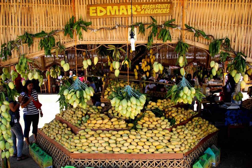 puestos mangos festival guimaras