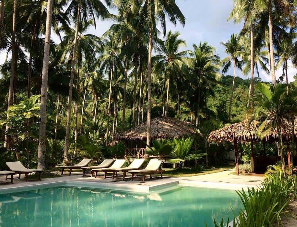 piscina mahogany resort el nido
