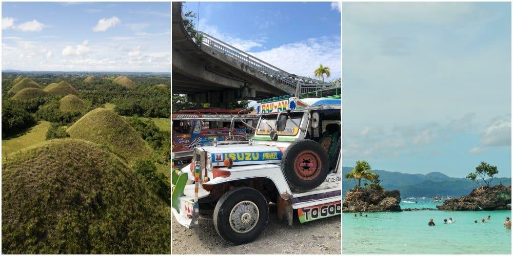 Cómo ir de Bohol a Boracay y viceversa