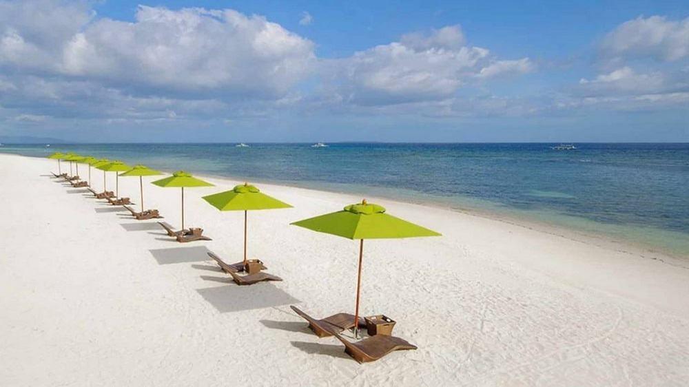 playa y hamacas south palms resort luna de miel filipinas